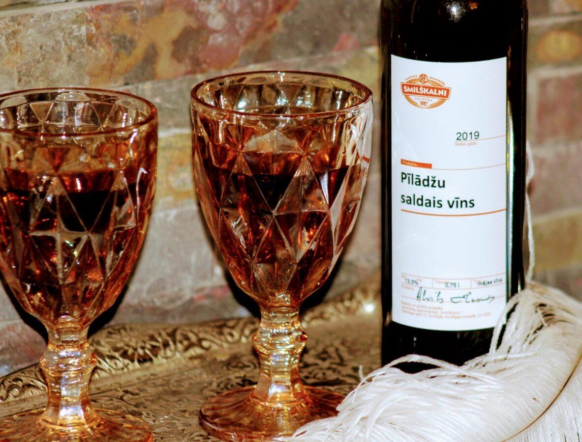 Pīlādžu saldais vīns